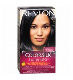 Revlon ColorSilk Luminista Hair Color Dye - Bright Black 105
