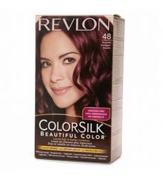 Revlon Colorsilk Hair Color Dye - Burgundy 48