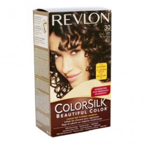 0d87b639e2f Revlon Colorsilk Hair Color Dye - Dark Brown 30 - Hair Color   Dye ...