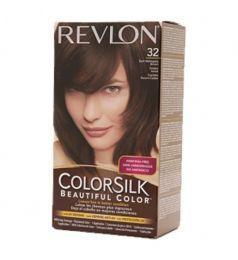 Revlon Colorsilk Hair Color Dye - Dark Mahogany Brown 32