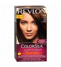 Revlon ColorSilk Luminista Hair Color Dye - Dark Golden Brown 114