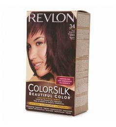 Revlon Colorsilk Hair Color Dye - Deep Burgundy 34