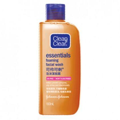 Clean & Clear Essentials Foaming Facial Wash 50ml