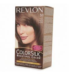 Revlon Colorsilk Hair Color Dye - Light Ash Brown 50