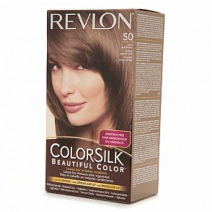 revlon colorsilk hair color dye light ash brown 50