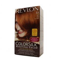Revlon Colorsilk Hair Color Dye - Light Auburn 53