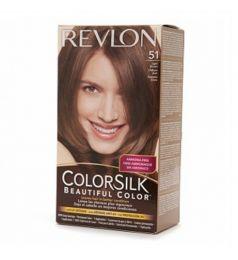 Revlon Colorsilk Hair Color Dye - Light Brown 51