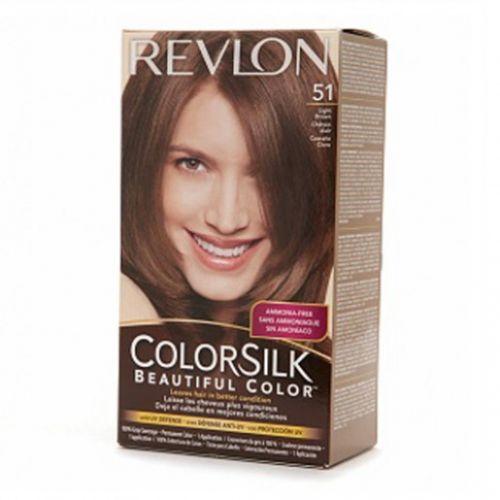 Revlon Colorsilk Hair Color Dye  Light Brown 51  Hair Color Amp Dye  Gom