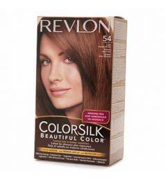 Revlon Colorsilk Hair Color Dye - Light Golden Brown 54