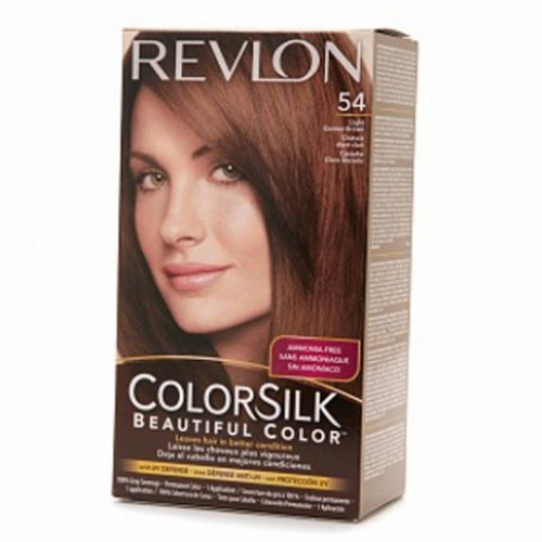 revlon colorsilk hair color dye light golden brown 54. Black Bedroom Furniture Sets. Home Design Ideas