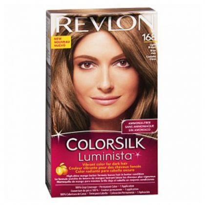 Revlon ColorSilk Luminista Hair Color Dye  Light Brown 168  Hair Color Amp