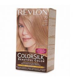 Revlon Colorsilk Hair Color Dye - Medium Ash Blonde 70