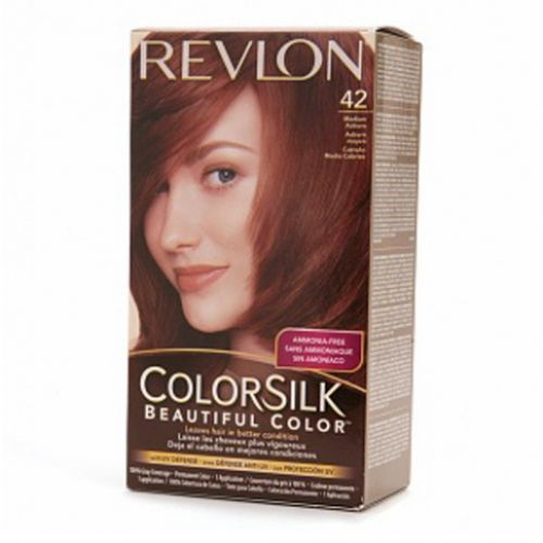 revlon medium auburn hair color revlon colorsilk hair