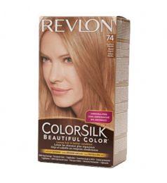 Revlon Colorsilk Hair Color Dye - Medium Blonde 74