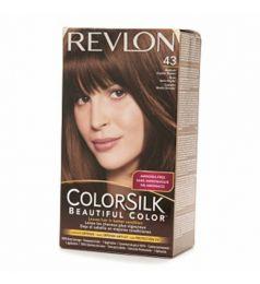 Revlon Colorsilk Hair Color Dye - Medium Golden Brown 43