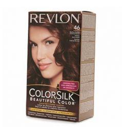 Revlon Colorsilk Hair Color Dye - Medium Golden Chestnut Brown 46