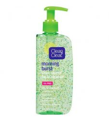 Clean & Clear Morning Burst Shine Control Facial Cleanser 240ml