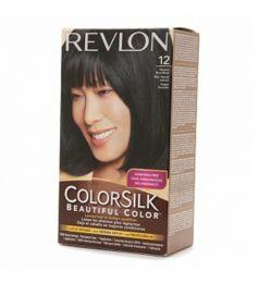 Revlon Colorsilk Hair Color Dye - Natural Blue Black 12