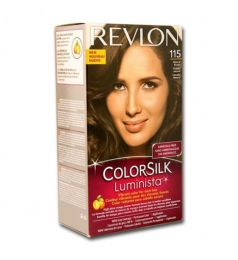 Revlon ColorSilk Luminista Hair Color Dye - Natural Brown 115