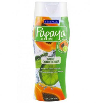 Freeman Papaya And Lime Shine Conditioner 400ml