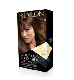 Revlon Luxurious ColorSilk ButterCream Hair Color - 51N Light Brown