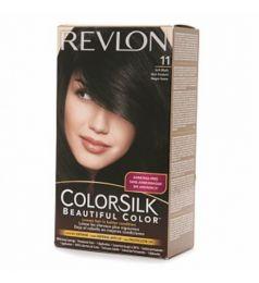 Revlon Colorsilk Hair Color Dye - Soft Black 11