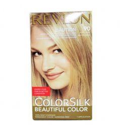 Revlon Colorsilk Hair Color Dye - Very Light Ash Blonde 90