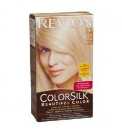 Revlon Colorsilk Hair Color Dye - Very Light Beige Blonde 91Revlon ColorSilk Luminista Hair Color Dye - Black 110