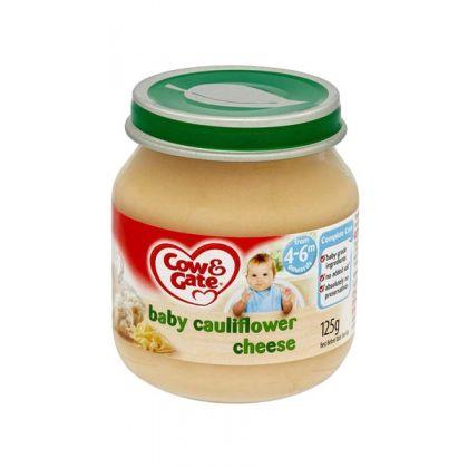 Cow & Gate Baby Cauliflower Cheese 4-6 Months (125g)
