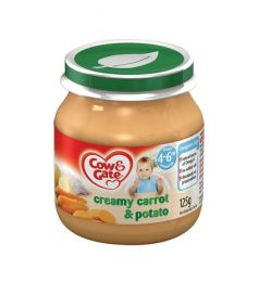 Cow & Gate Creamy Carrot & Potato 4-6 months (125g)