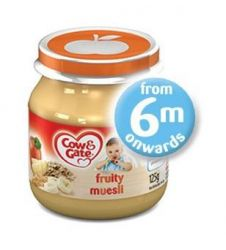Cow & Gate Fruity Muesli 4-6 months (125g)