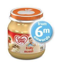 Cow & Gate Fruity Muesli 4-6 months (125g)