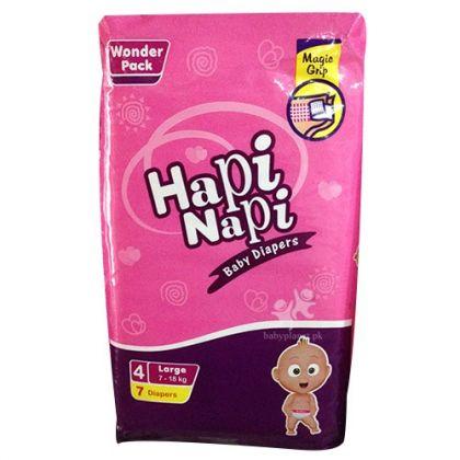 Hapi Napi Diapers (Large) 7 pcs