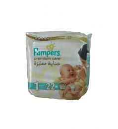 Pamper Diapers Premium Care 1 (2-5 Kg) 22 Pcs