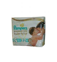 Pamper Diapers Premium Care 5 (11-25kg) 32 Pcs