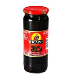 Figaro Sliced Black Olives (130gm)