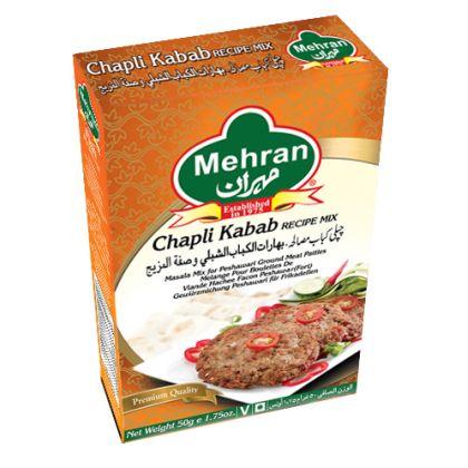 Mehran Chapli Kabab Recipe Mix (50gm)
