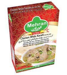 Mehran Chicken White Karahi Recipe Mix (50gm)
