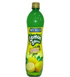 Mitchell's Lemon Squash (800ml)