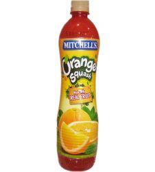 Mitchell's Orange Squash (800ml)