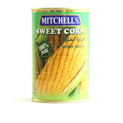 Mitchell s Sweet Corn Can (450gm)