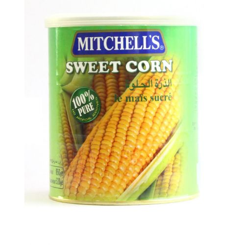 mitchell s sweet corn can 850gm canned food gomart pk