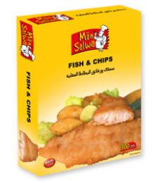 Monsalwa Fish & Chips (300gm)