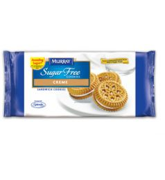 Murray Sugar Free Sandwich cookies Vanilla Creme