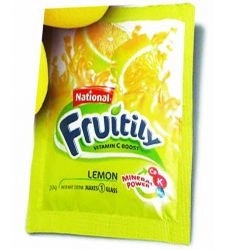 National Fruitily Lemon Sachet