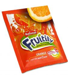 National Fruitily Orange Sachet