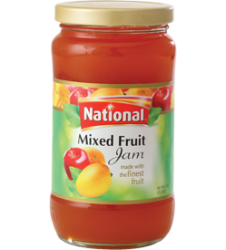 National Jam Mix Fruit (440gm)