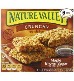 Nature Valley Crunchy Maple Brown Sugar (252gm)