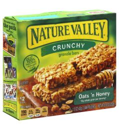 Nature Valley Crunchy Oats And Honey (252gm)