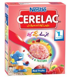 Nestle Cerelac Cereal Red Fruit  (175gm)